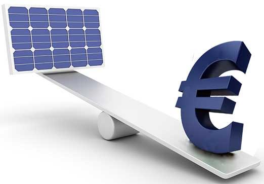 l'investimento nei pannelli solari ha uno dei migliori rendimenti oggi disponibili sul mercato